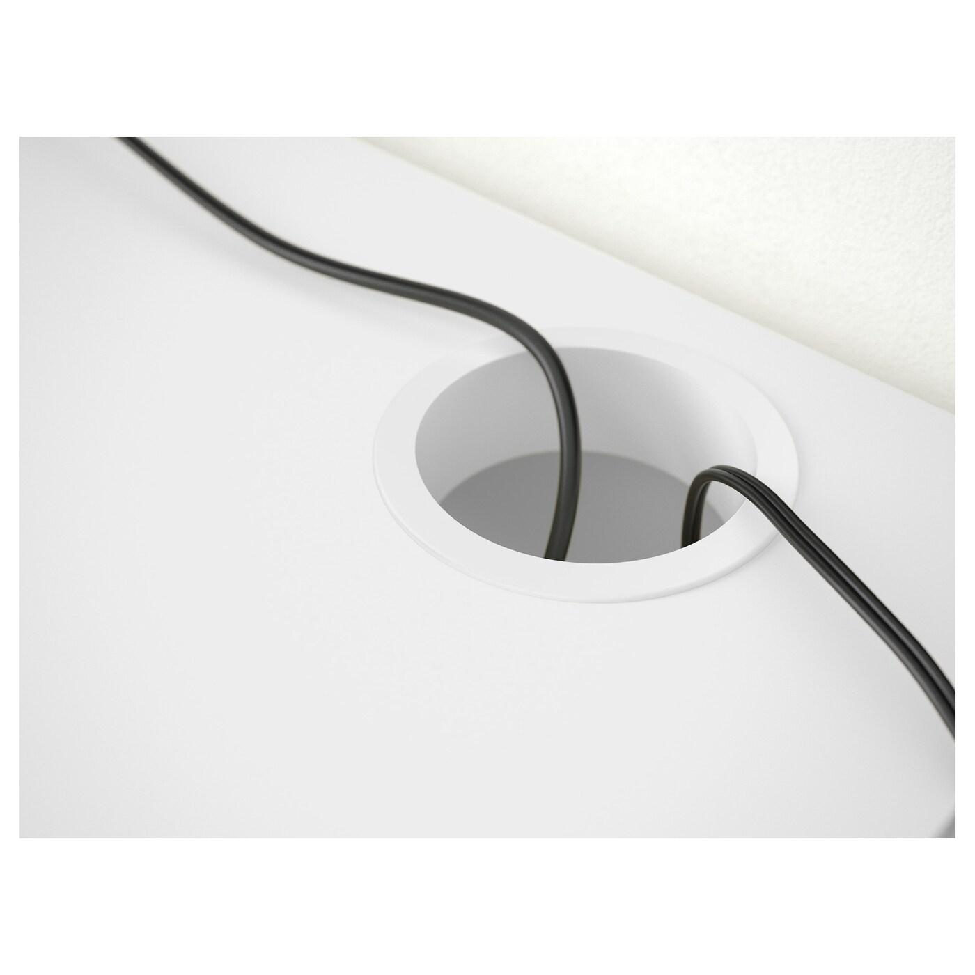 МИККЕ -8 Письменный стол, белый
