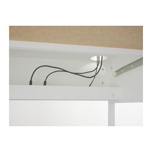 МИККЕ Письменный стол, белый, 142x50 см-6