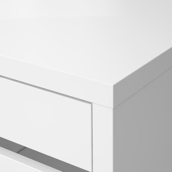 MICKE Biurko, biały, 105x50 cm