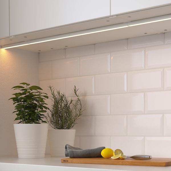 MITTLED Taśma oświetleniowa LED do bl kuch, można przyciemniać biały, 20 cm