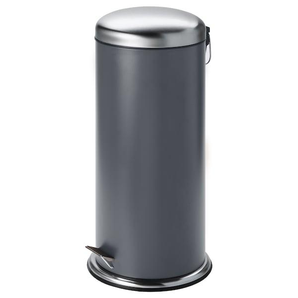 MJÖSA Kosz na odpady, ciemnoszary, 30 l