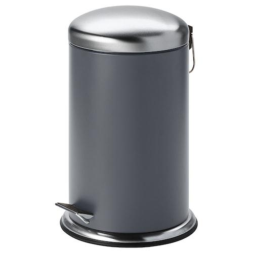 MJÖSA kosz na odpady ciemnoszary 45.5 cm 28.5 cm 12 l
