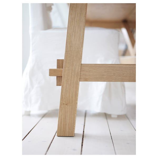 MÖCKELBY stół dąb 140 cm 79 cm 74 cm