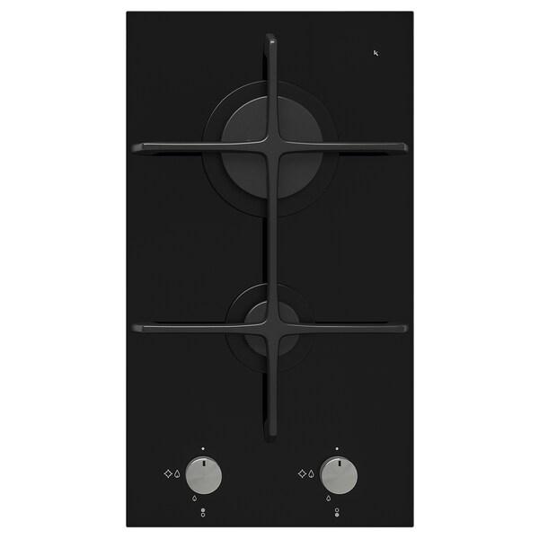 MÖJLIG Kuchenka gazowa domino, 2 palniki, czarny, 29 cm