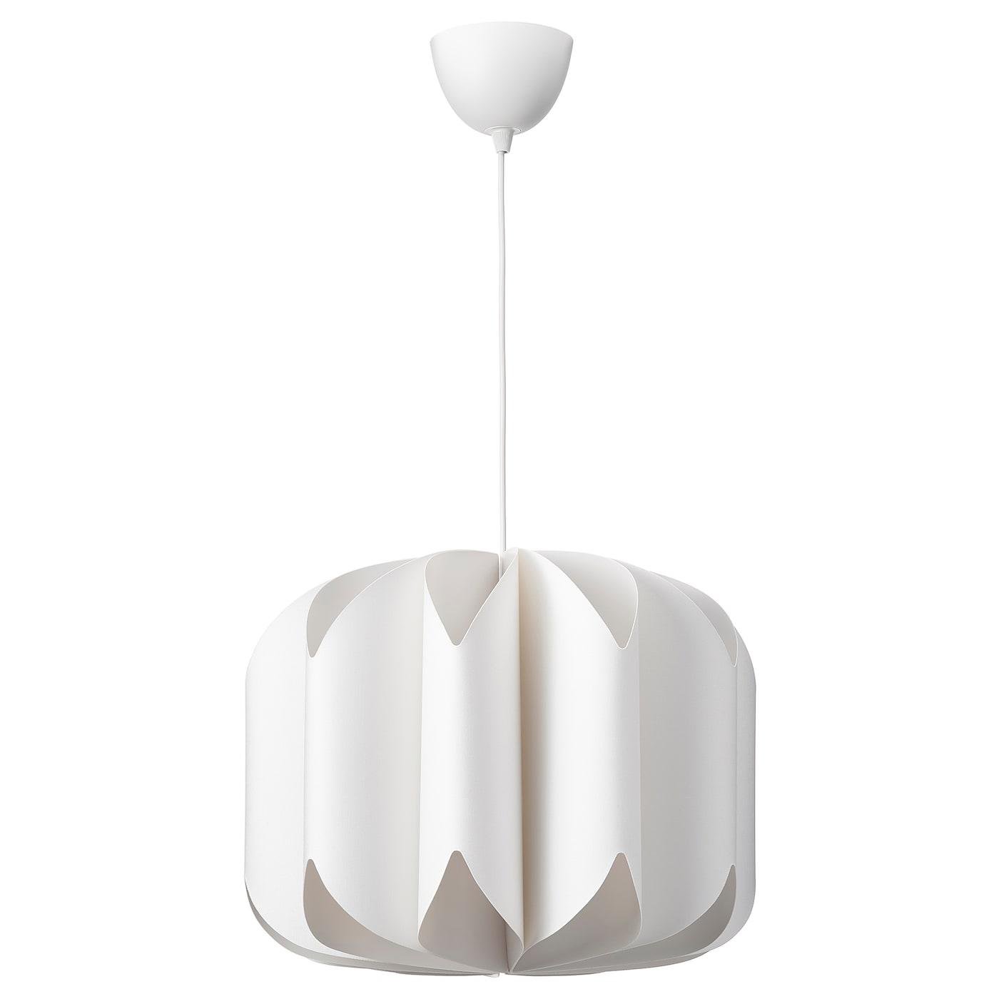 MOJNA / HEMMA Lampa wisząca, biały