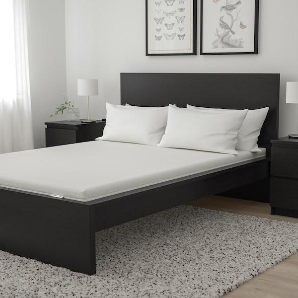 MOSHULT Materac piankowy, twardy/biały, 140x200 cm