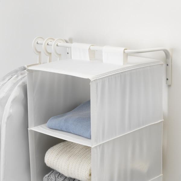 MULIG Drążek na ubrania, biały, 60-90 cm