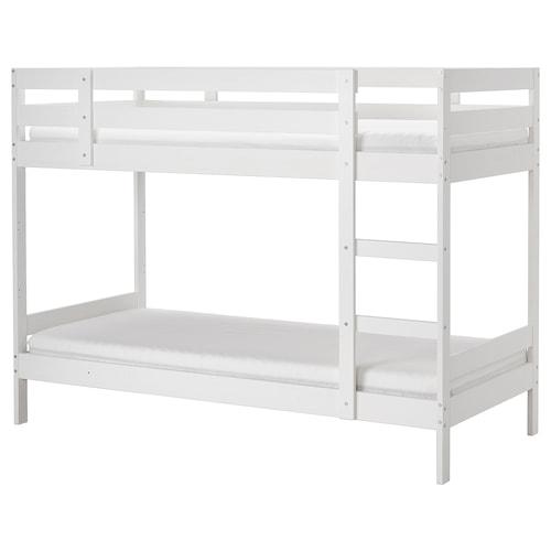 MYDAL rama łóżka piętrowego biały 206 cm 97 cm 157 cm 100 kg 200 cm 90 cm 19 cm