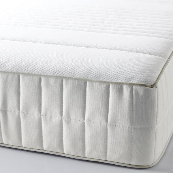 MYRBACKA Materac lateksowy, średnio twardy/biały, 140x200 cm