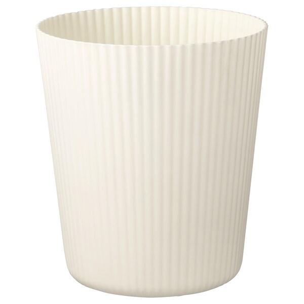 NEJKON Osłonka doniczki, biały, 12 cm