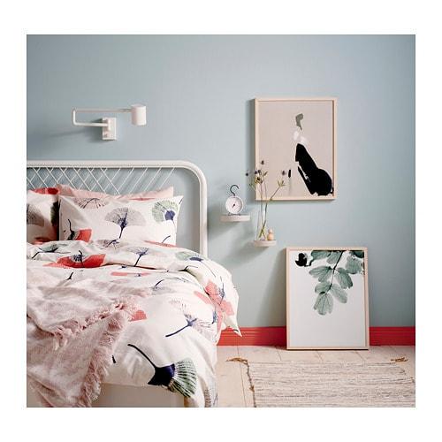 НЕСТТУН Каркас кровати, белый, 160x200 см-3