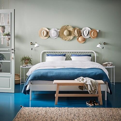 НЕСТТУН Каркас кровати, белый, 160x200 см-2