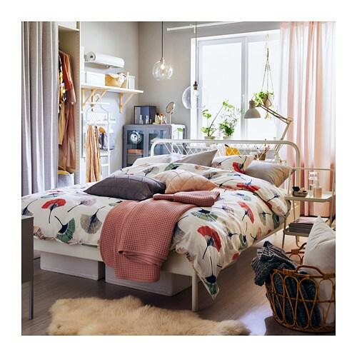 НЕСТТУН Каркас кровати, белый, 160x200 см-7