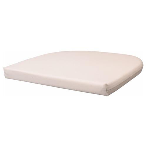 NORNA poduszka na krzesło Laila naturalny 42 cm 41 cm 3.5 cm