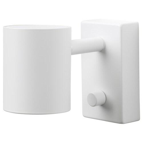NYMÅNE kinkiet/lampa do czyt, inst stała biały 8.5 Wat 11 cm 7 cm
