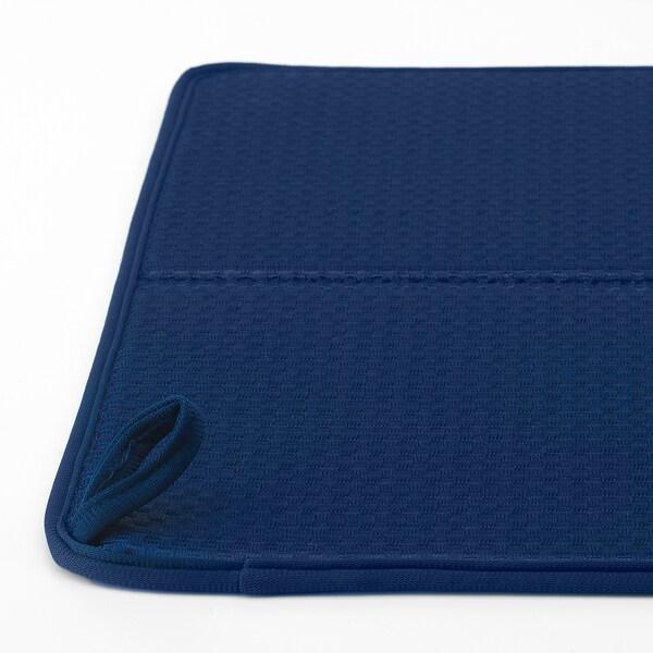 NYSKÖLJD Podkładka do suszenia naczyń, niebieski, 44x36 cm
