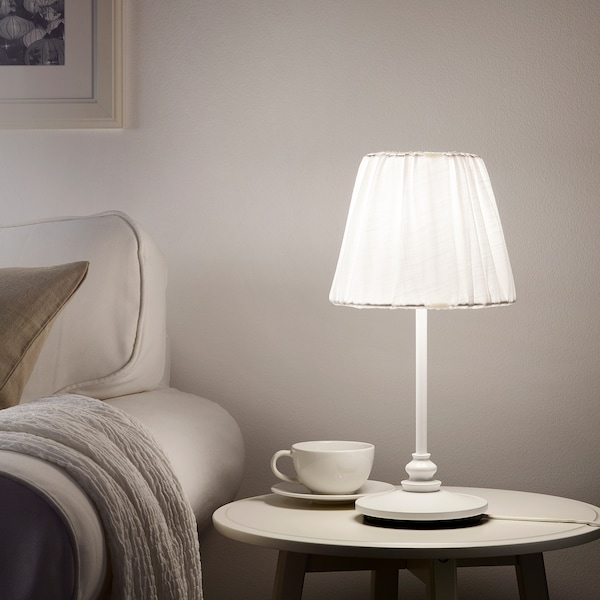 ÖSTERLO lampa stołowa 8 Wat 200 lm 22 cm 43 cm 16 cm 2.0 m