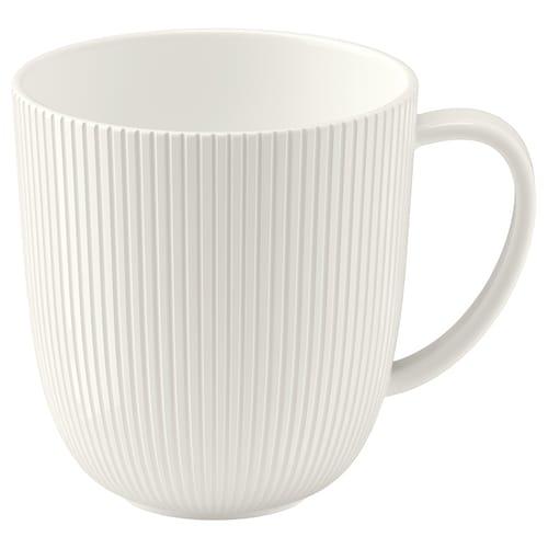 OFANTLIGT kubek biały 9 cm 31 cl