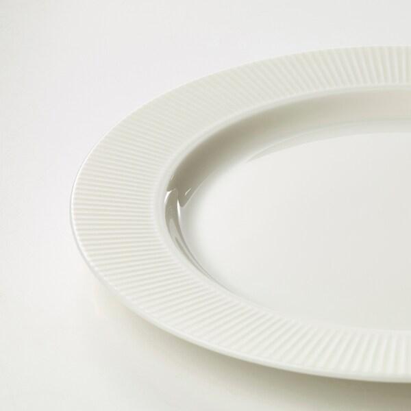 OFANTLIGT Talerzyk, biały, 22 cm