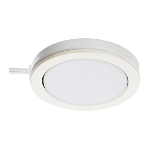 Omlopp Reflektor Led Bialy Ikea