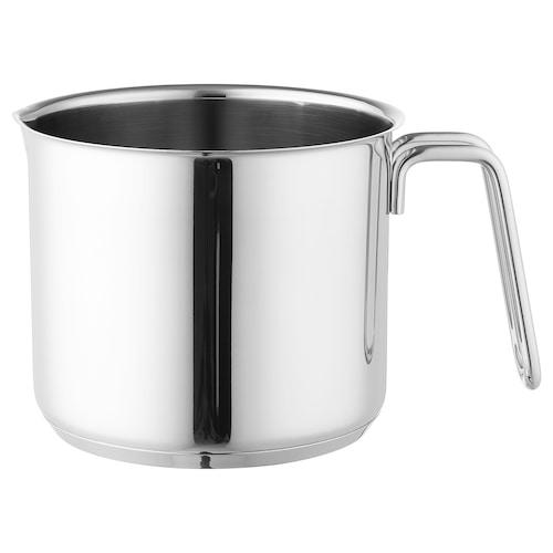 OUMBÄRLIG dzbanek do spieniania mleka 12 cm 14 cm 1.5 l