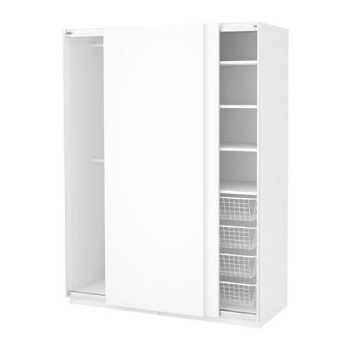pax szafa 150x66x201 cm ikea. Black Bedroom Furniture Sets. Home Design Ideas