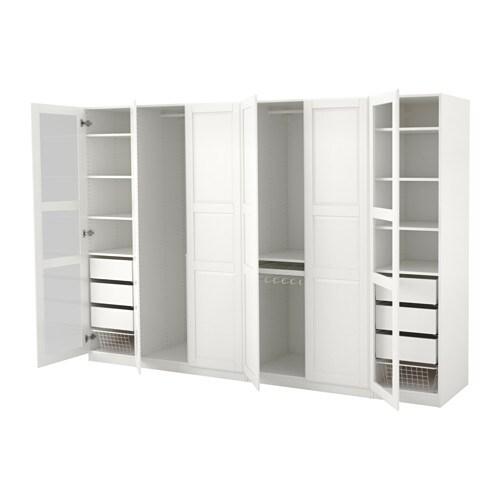 pax szafa 300x60x201 cm standardowe zawiasy ikea. Black Bedroom Furniture Sets. Home Design Ideas