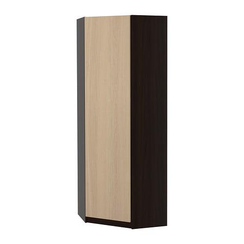 pax szafa naro na nexus okleina d bowa bejcowana na bia o 73 73x201 cm ikea. Black Bedroom Furniture Sets. Home Design Ideas