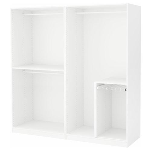 PAX szafa biały 200.0 cm 58.0 cm 201.2 cm