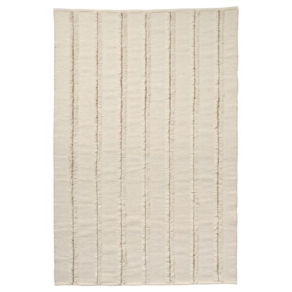PEDERSBORG Dywan tkany na płasko, naturalny/kremowy, 133x195 cm