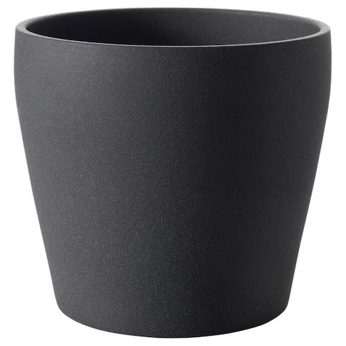 PERSILLADE Osłonka doniczki ciemnoszary 23 cm 24 cm 19 cm 22 cm