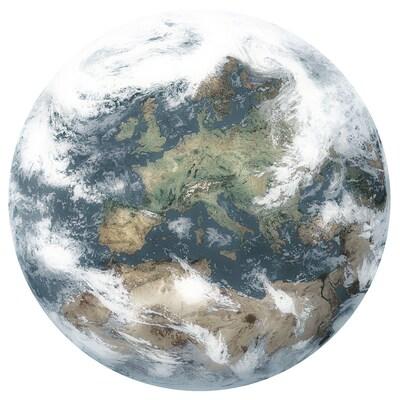 PJÄTTERYD Obraz, Planeta Ziemia II, 118x78 cm