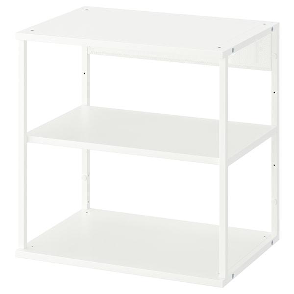 PLATSA Regał otwarty, biały, 60x40x60 cm
