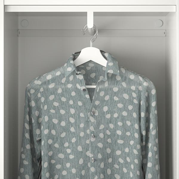 PLATSA Szafa 8 drzwi+3 szuflady, biały/Fonnes Sannidal, 340x42x241 cm