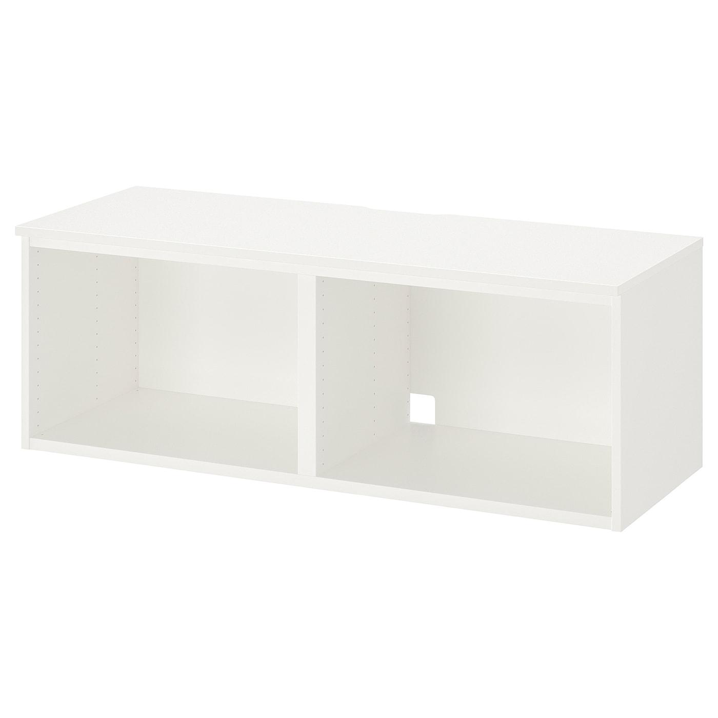 IKEA PLATSA Szafka pod TV, biały, 120x42x42 cm