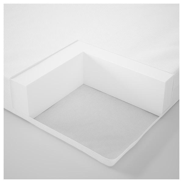 PLUTTEN Materac piankowy na łóżko rozsuwane, 80x200 cm