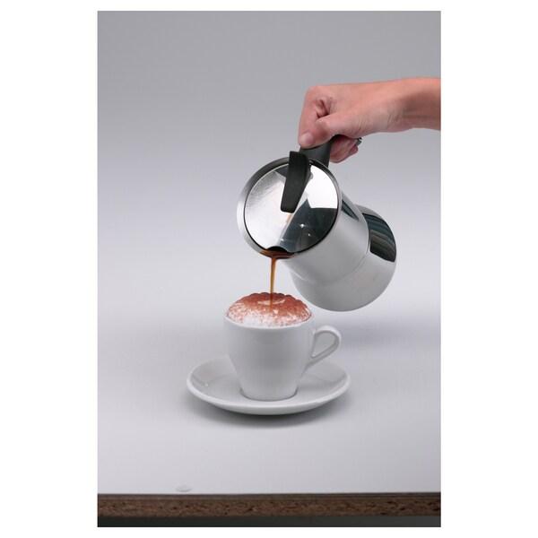 PRODUKT spieniacz do mleka czarny 20 cm