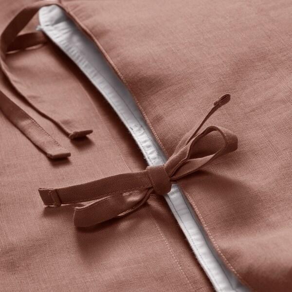 PUDERVIVA Komplet pościeli, ciemnoróżowy, 200x200/50x60 cm
