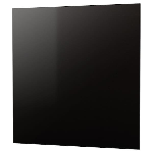 RÅHULT Panel ścienny na wymiar, czarny imitacja kamienia/kwarc, 1 m²x1.2 cm