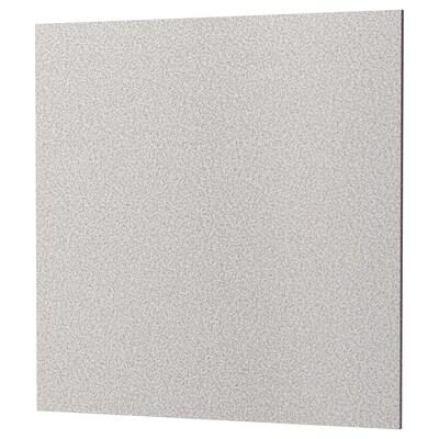 RÅHULT Panel ścienny na wymiar, jasnoszary imitacja kamienia/kwarc, 1 m²x1.2 cm
