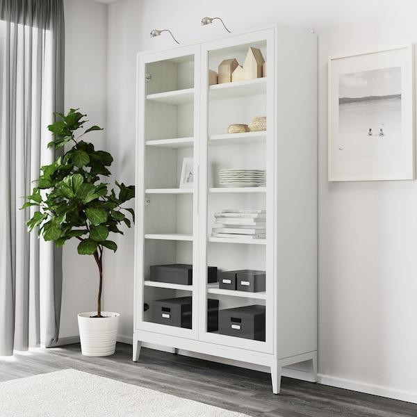 REGISSÖR Witryna, biały, 118x203 cm