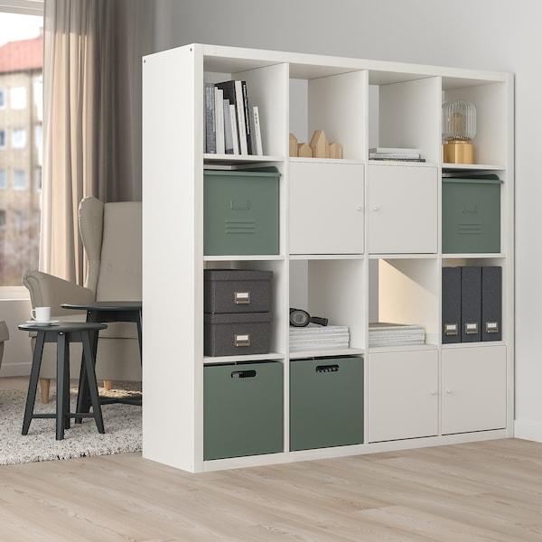 REJSA Pudełko, szarozielony/metal, 32x35x32 cm