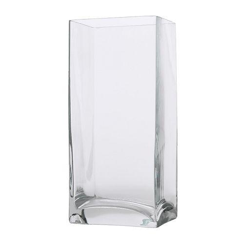 Купить дешево РЕКТАНГЕЛЬ Ваза, прозрачное стекло в IkeaStore.com.ua по цене 89,90 грн.