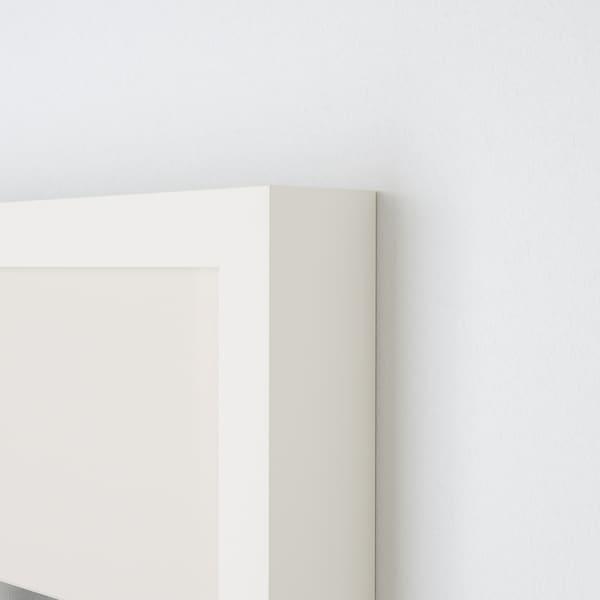 RIBBA ramka biały 50 cm 70 cm 40 cm 50 cm 39 cm 49 cm 52 cm 72 cm