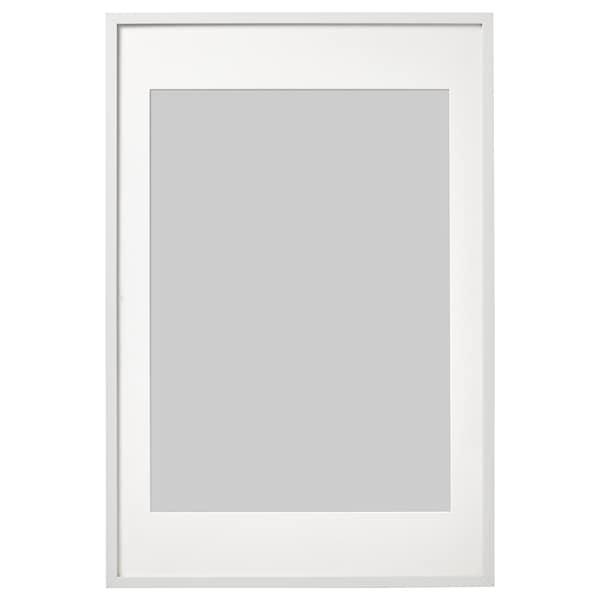 RIBBA Ramka, biały, 61x91 cm