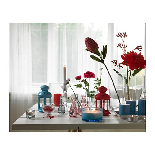 ikea rotera latarenka lampion kolory 21cm 59854544. Black Bedroom Furniture Sets. Home Design Ideas