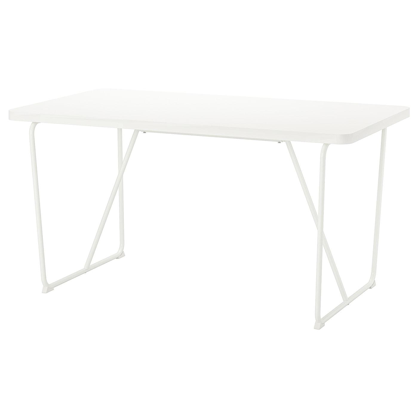 IKEA RYDEBÄCK Stół, biały, Backaryd biały, 150x78 cm