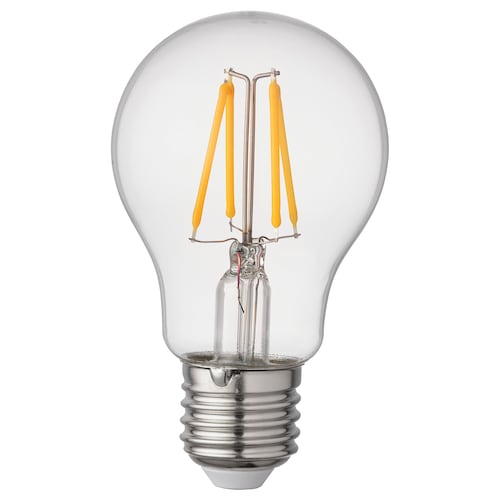 RYET Żarówka LED E27 470 lumenów kula przezroczysta 2700 Kelwin 470 lm 60 mm 4.0 Wat