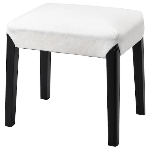 SAKARIAS rama stołka czarny 35 cm 47 cm 49 cm 39 cm 100 kg 51 cm 49 cm