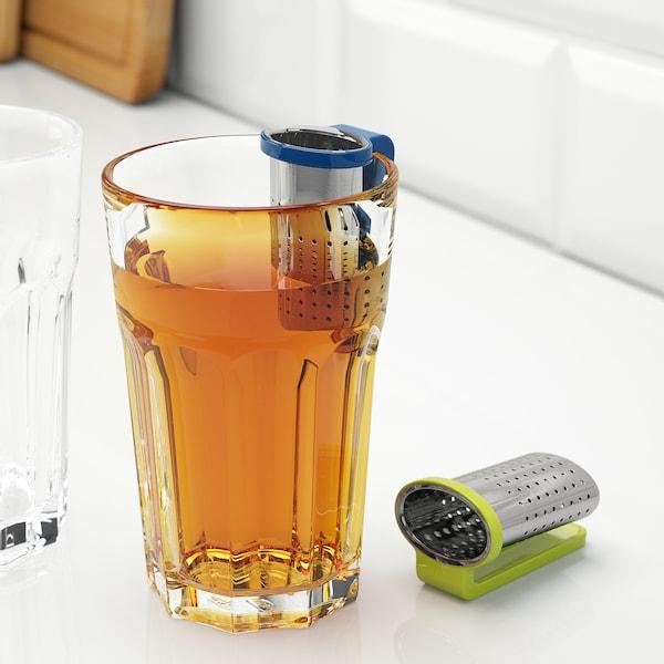 SAKKUNNIG Zaparzaczka do herbaty, jasnozielony/niebieski